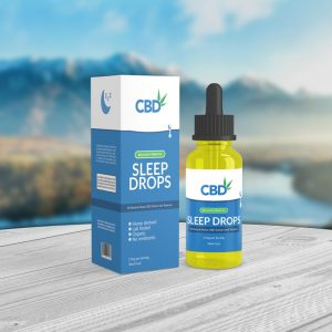 Sleep drops packaging template