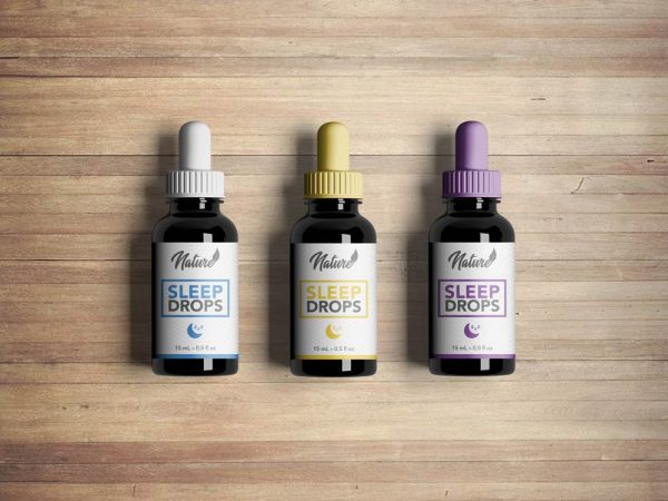 Nature CBD oil label