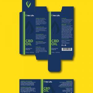 Vet Life packaging template