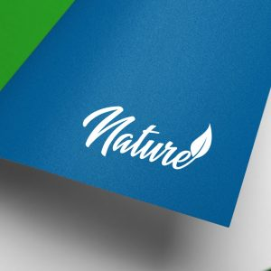 Nature CBD logo template