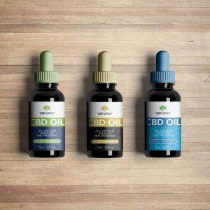 CBD oil label CBDdrop