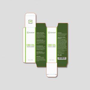 CBD oil design AuraLeaf