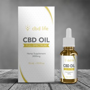 CBD oil packaging design