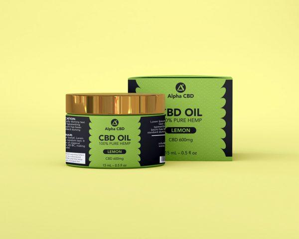 Alpha CBD oil design
