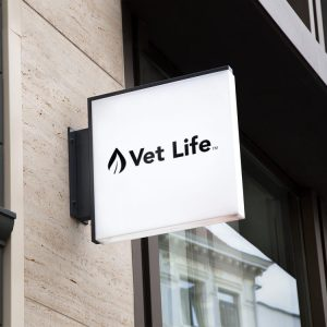 Vet Life logo design