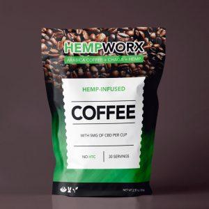 CBD Coffee Pouch Template