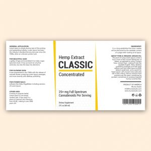 CBD Classic Concentrate Template