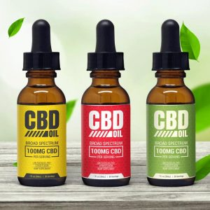 CBD Oil Tincture Template