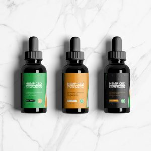 Companion CBD Oil design