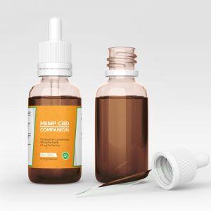 Companion CBD Oil design