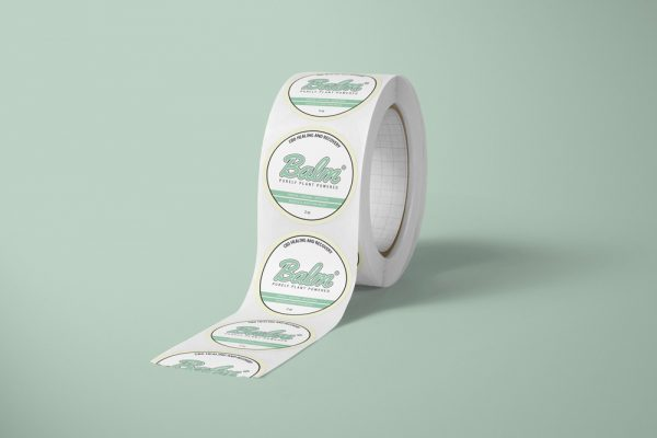 CBD Pain Relief Sticker