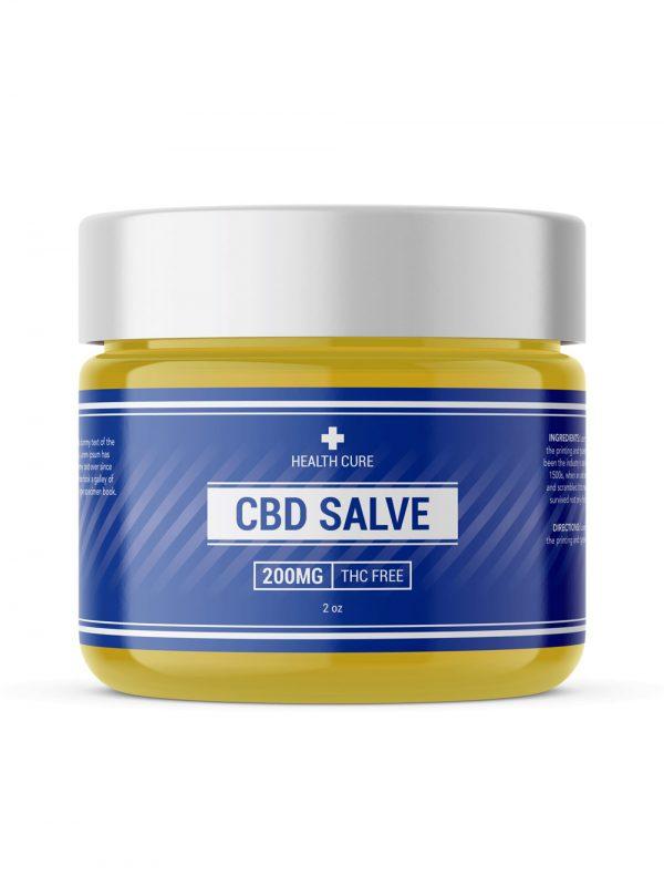 CBD salve label template