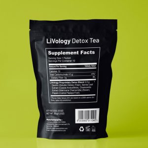 Detox Tea Pouch Template