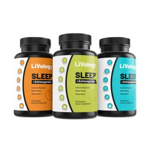 LIVology Sleep Ashwagandha label template