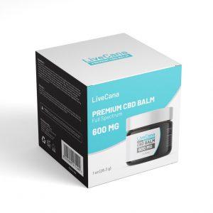 CBD Balm Packaging Template