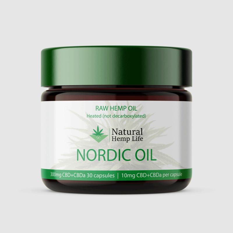 NaturalHempLife CBD Packaging Design