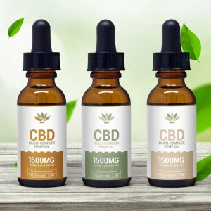 Multi-Complex Hemp Oil Template