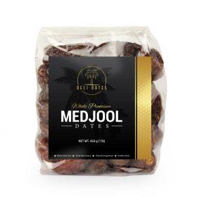 Medjool dates label design