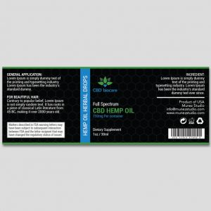 CBD oil design biocare