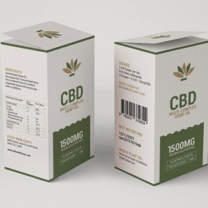 CBD-Multi-Complex Hemp Oil Template
