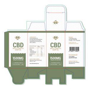 CBD-Multi-Complex Hemp Oil Template