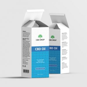 CBDdrop box design template
