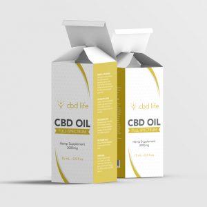 CBD Life box design
