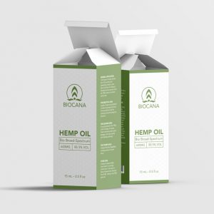 Biocana CBD oil box