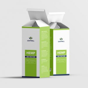 LeafWell CBD oil box