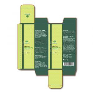 CBD biocare box template