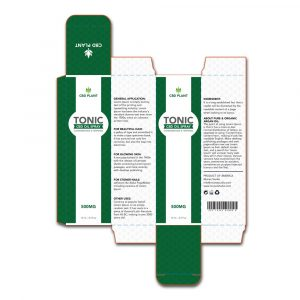 CBD oil product box