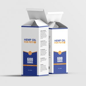 Hemp-oil for pets box