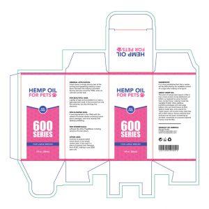 Hemp-oil for pets box