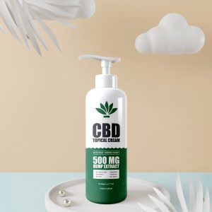 CBD Topical Cream Label