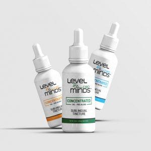 Level minds cbd Label