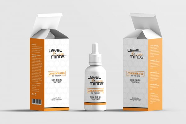 Level minds CBD packaging