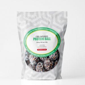 CBD Protein-Ball sticker template